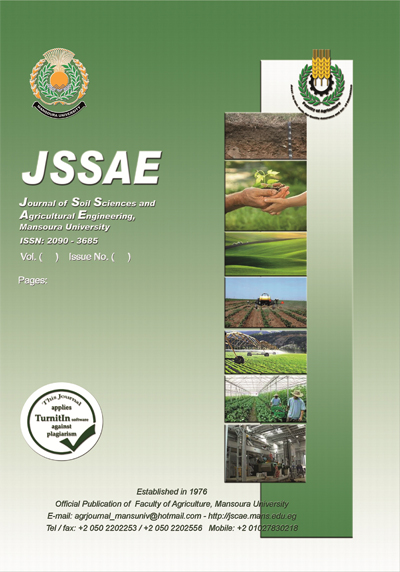 Journal of Soil Sciences and Agricultural Engineering
